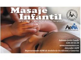 Curso Masaje Infantil para Padres con hijos menores de 1 año - Sano Natura