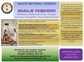 Masaje energético femenino