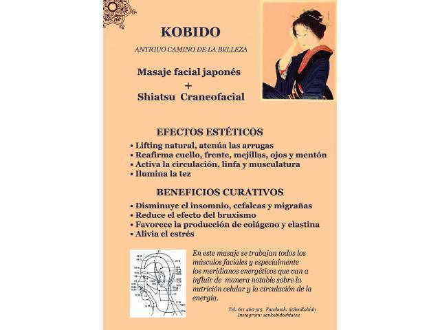 A Domicilio  lifting natural Kobido + Shiatsu Craneofacial